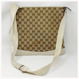 Authentic Gucci GG Monogram Crossbody Bag